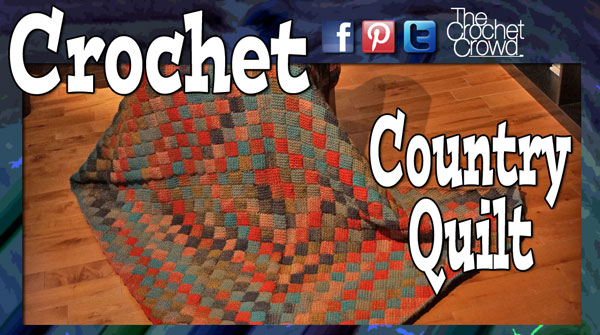 Country Crochet Quilt Pattern by Mikey