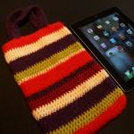 Felted 2012 iPad Mini Crochet Case