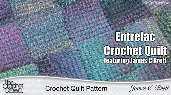 The Crochet Quilt Pattern Entrelac Crochet The Crochet Crowd