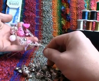 How To Crochet with Wire Using Beads