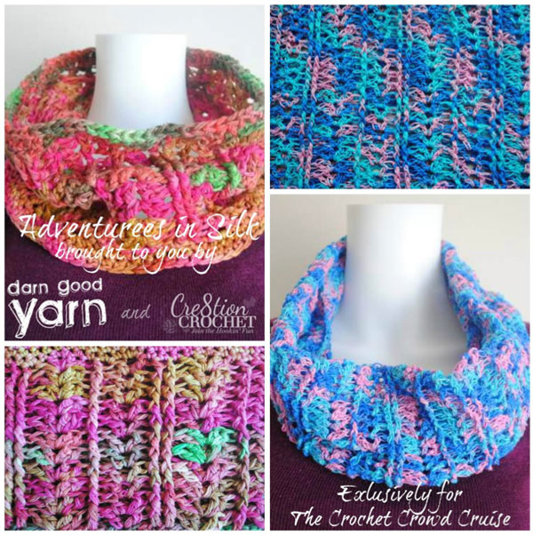 Adventures in Silk Crochet Cowl
