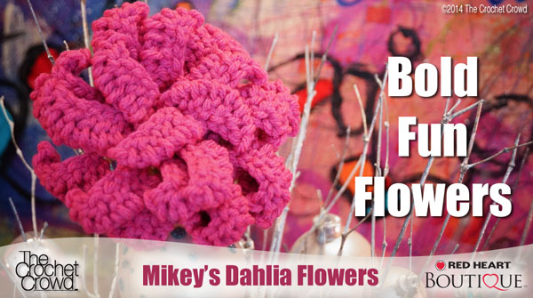 Fabulous Dahlia Crochet Flower Pattern