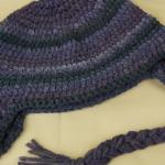 Eclipse Braided Ear Flap Hat