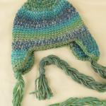Treasure Braided Ear Flap Crochet Hat