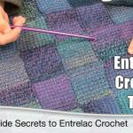 The Crochet Quilt Pattern - Entrelac Crochet