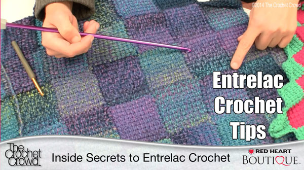 Entrelac Crochet Tips