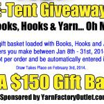 E-Tent Giveaway - Ends Jan 31st