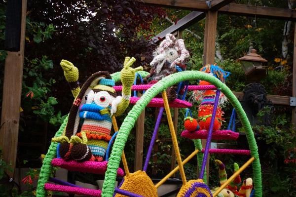 Crochet Ferris Wheel Project