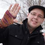 Crochet Stretchy Fingerless Gloves