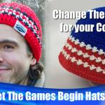 Canada & USA Peak Crochet Hat + Tutorial