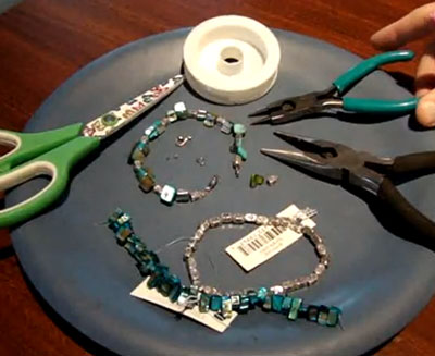 Glass Bracelet Making