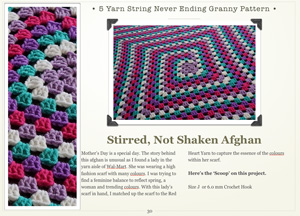 Never Ending Granny Afghans Crochet eBook