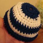 Crochet Preemie Hunnie Pot Hat