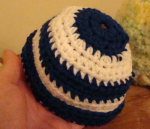 Crochet Preemie Hunnie Pot Hat Pattern