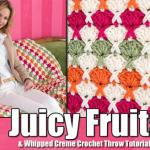 Juicy Fruits & Whipped Creme Throw