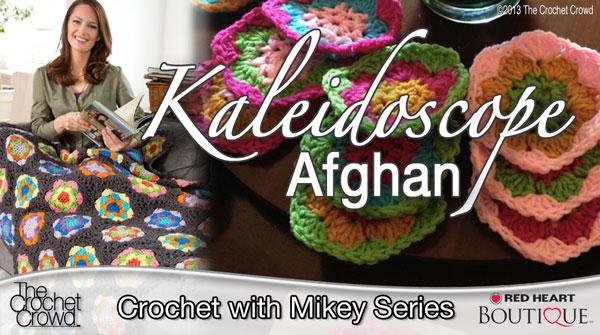Kaleidoscope Crochet Afghan