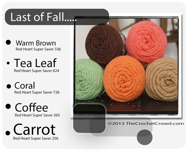 Fall Yarn Colour Combinations