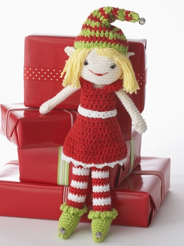 Lily The Christmas Elf Pattern