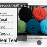 Peacock Feathers Color Combo