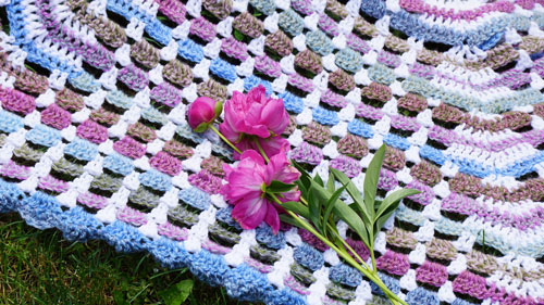 Crochet Garden Gate Crochet Afghan