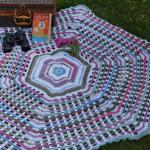 Crochet Garden Gate Afghan + Tutorial