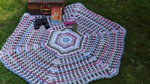 Garden Gate Afghan Crochet Pattern