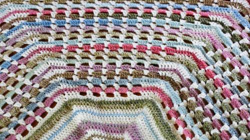 Crochet Garden Gate Afghan Pattern