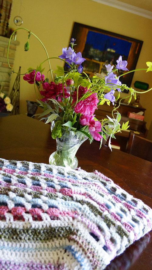 Garden Gate Crochet Afghan Pattern