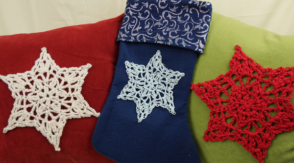 Crochet Star Applique Pattern: Free Pattern