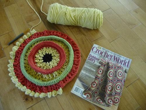 Crochet Afghan, Ringtoss