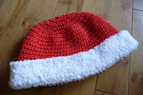 Crochet Santa Claus Hat Pattern