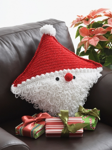 Santa Crochet Pillow Pattern