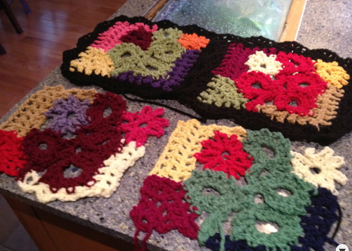Crochet Crazy Patchwork Afghan