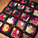 Crazy Patchwork Afghan