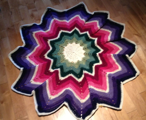 Crochet Spectrum Afghan Pattern