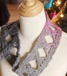 Crochet Butterfly Scarf - The Crochet Crowd