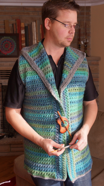 Crocheting With Mikey : Mikeys Crochet Vest - The Crochet Crowd