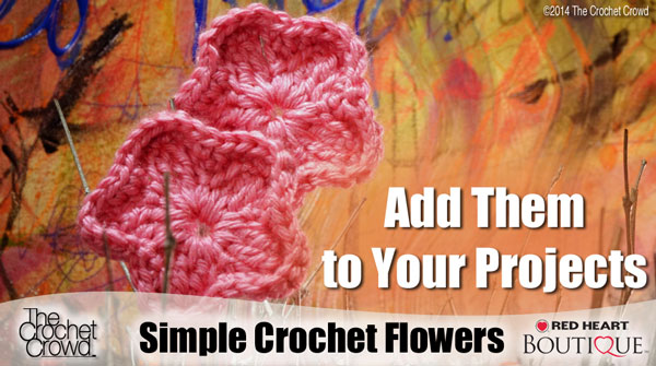 Simple Crochet Flowers Pattern