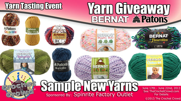 Yarn Tasting Event & Box of Yarn Giveaway