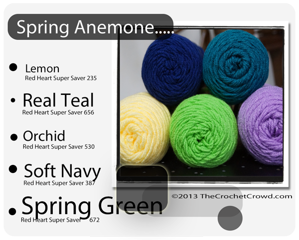 Spring Inspired Yarn Color.