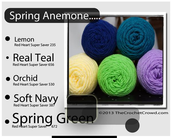 Spring Inspired Yarn Color.
