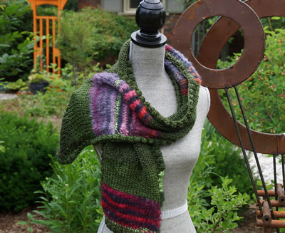 Magic Knitted Scarf Pattern The Crochet Crowd