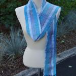 Blue Starlight Woven Scarf