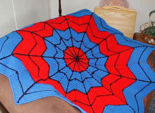 Super Hero Crochet Afghan Pattern