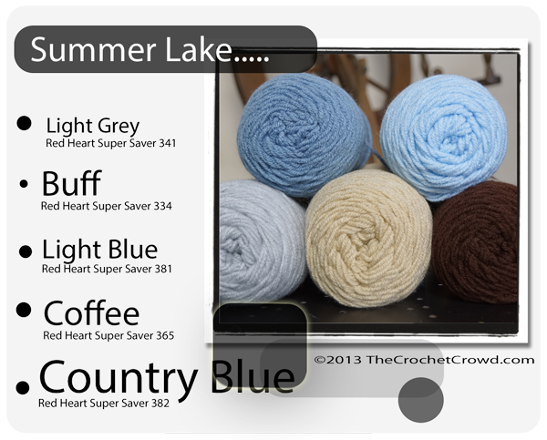 Summer Lake Yarn Colours