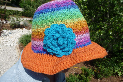 New Summer Hat For Crocheters