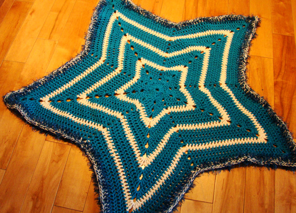 Crochet Super Star Afghan Design