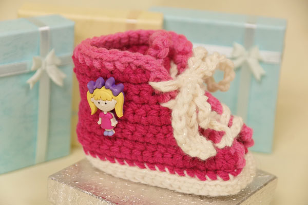 Baby Sneakers Crochet Booties