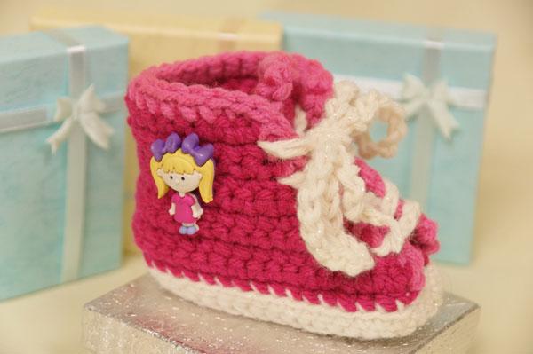 Crochet Sneakers for Baby