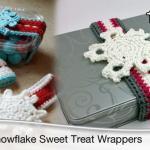 Snowflake Sweet Treat Wrappers + Tutorial